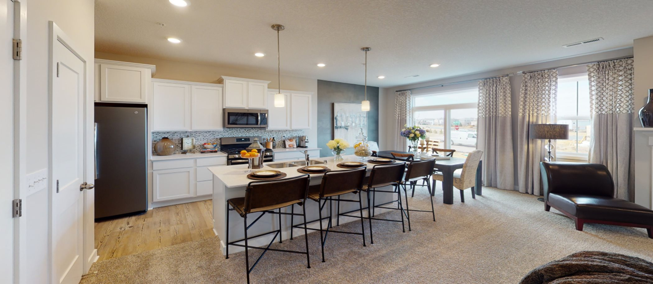 Highlands of Falmoor Glen Liberty Collection Raleigh EI Kitchen