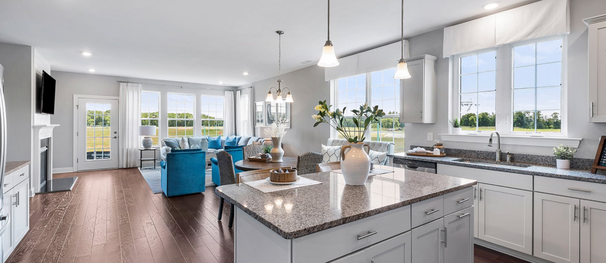 Venue at Smithville Greene Active Adult (55+) Community of Single Homes Merion kitchen