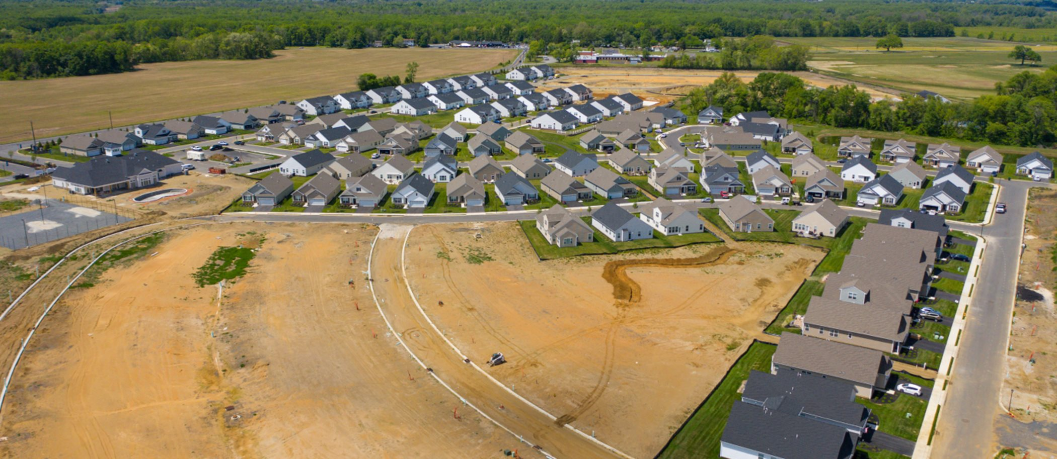 Venue at Smithville Greene Aerial view