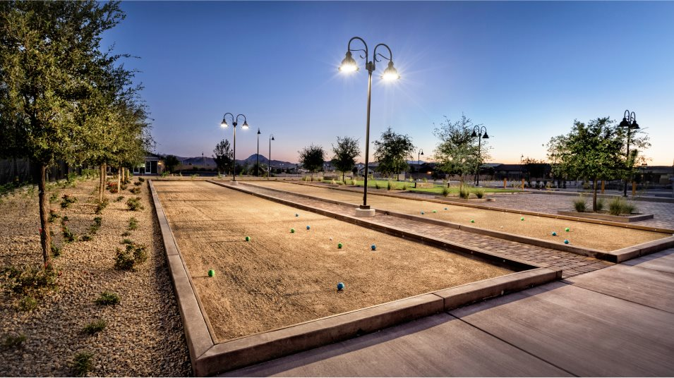 Heritage at Cadence Bocce Ball Court