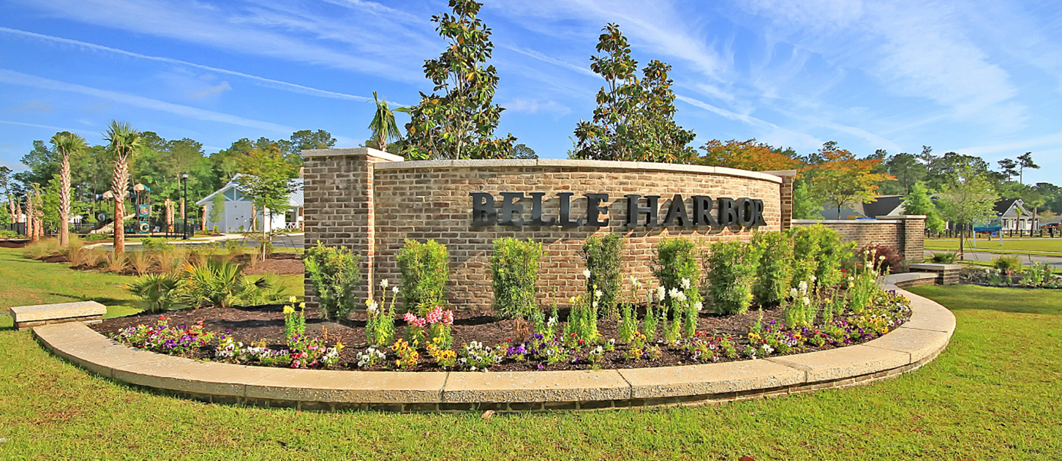 Belle Harbor Town homes Sign Board