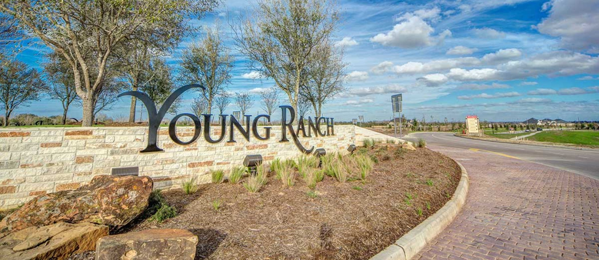 Young Ranch Entrance