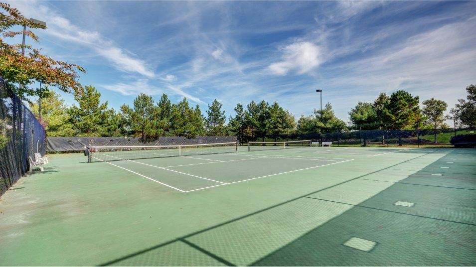 Colonial Heritage tennis court