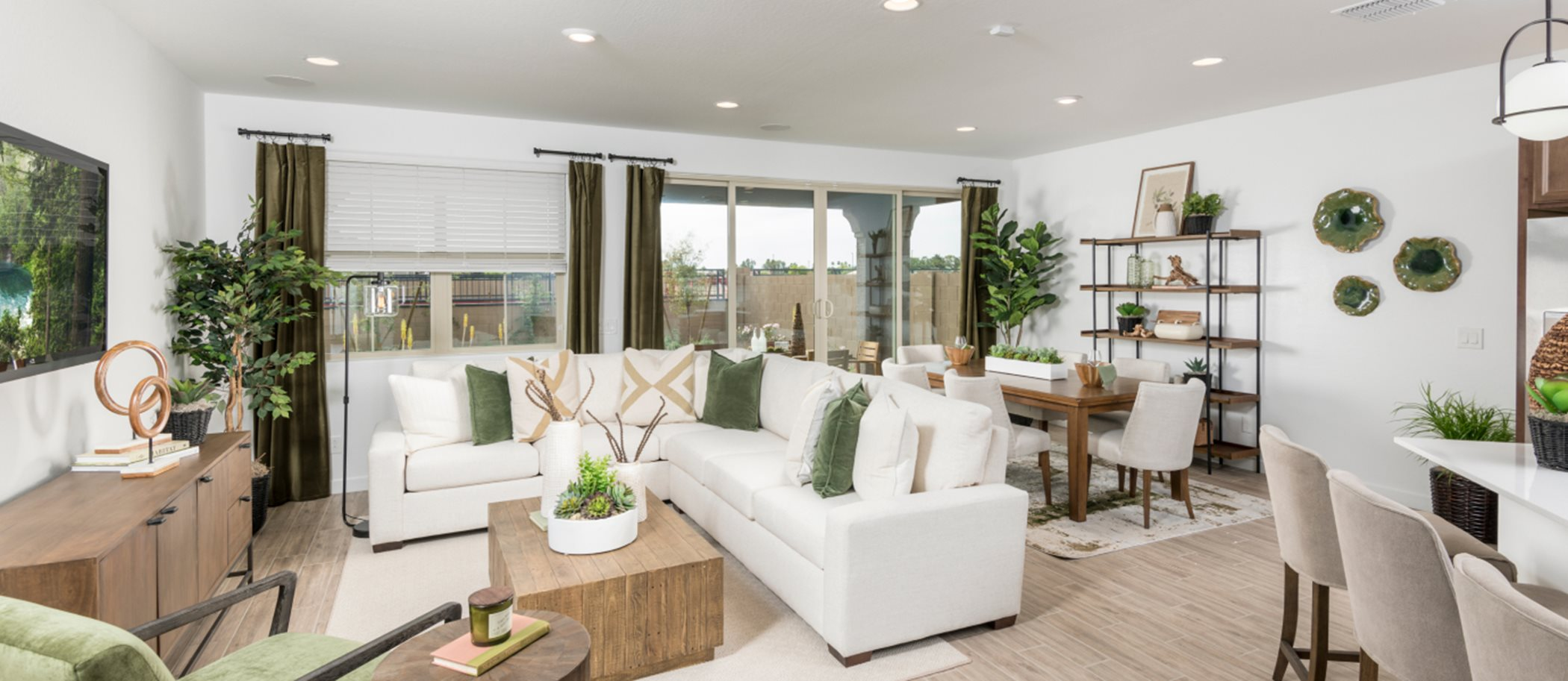 Asher Pointe Signature Sage 4022 Living