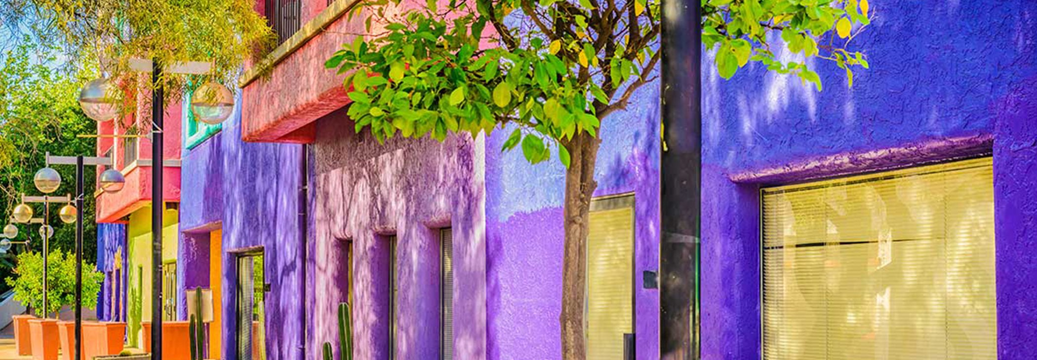 Colorful Adobe Homes