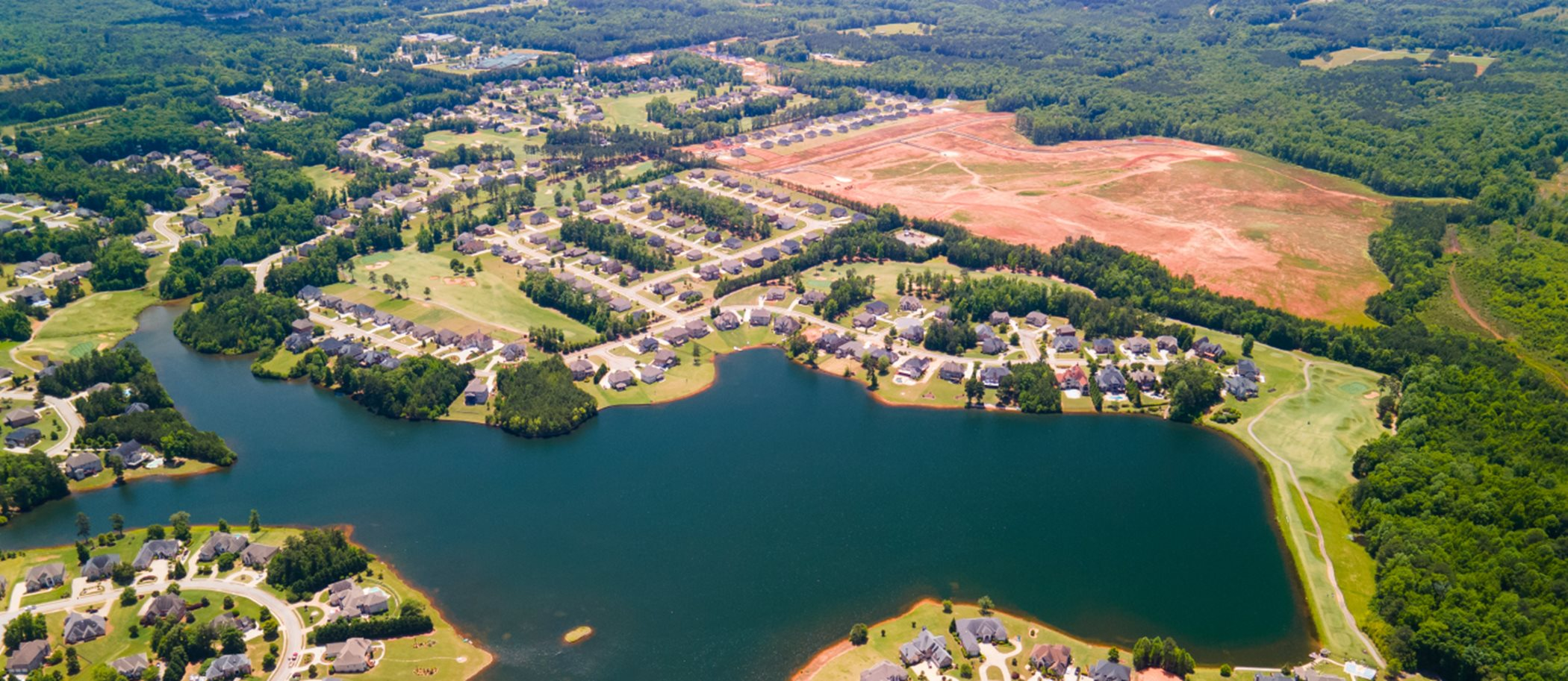 Aerial View of Heritage Point