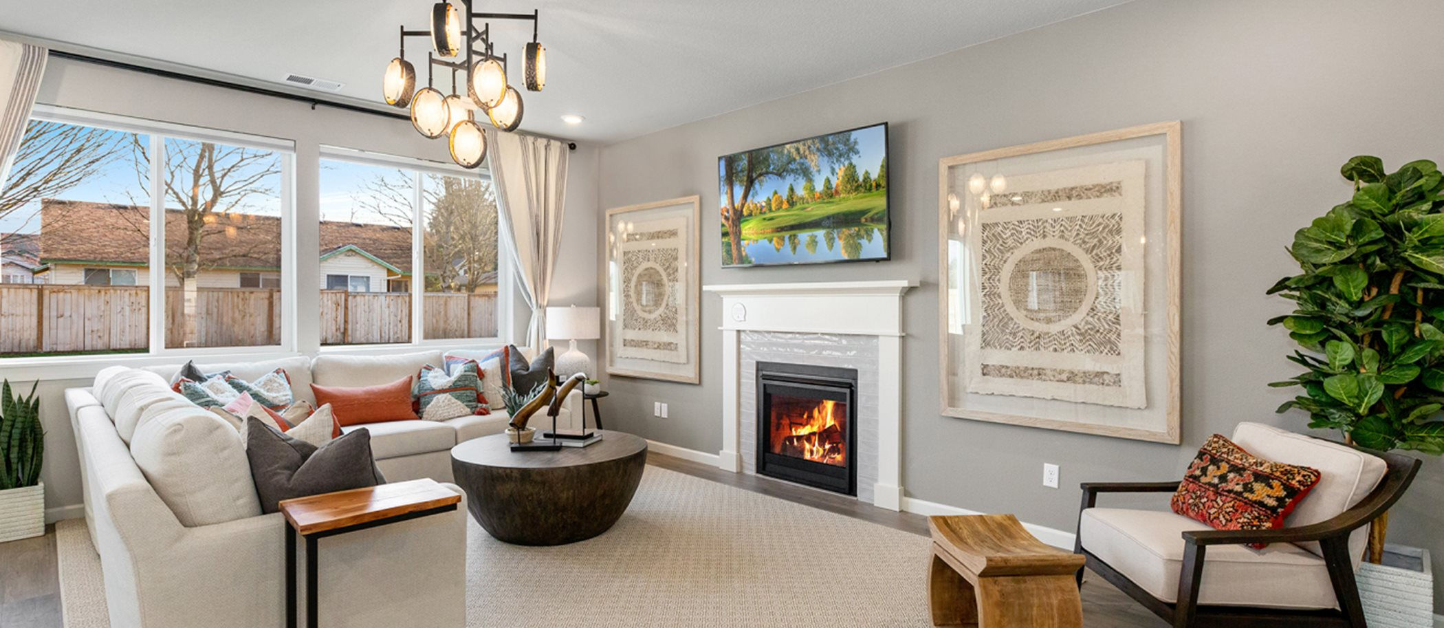 Green Mountain by Lennar Cypress Room