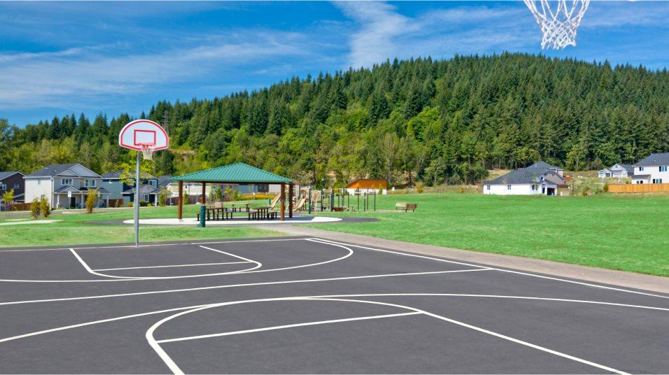 Green Mountain Basketball Court