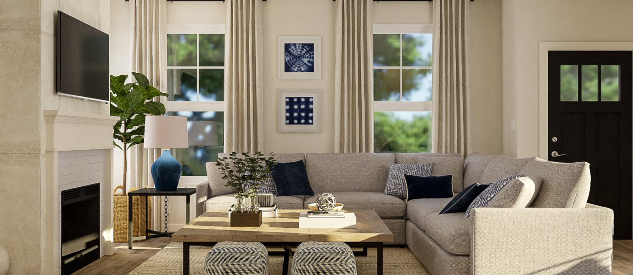 Reed's Crossing The Legacy Collection Calloway Living Room