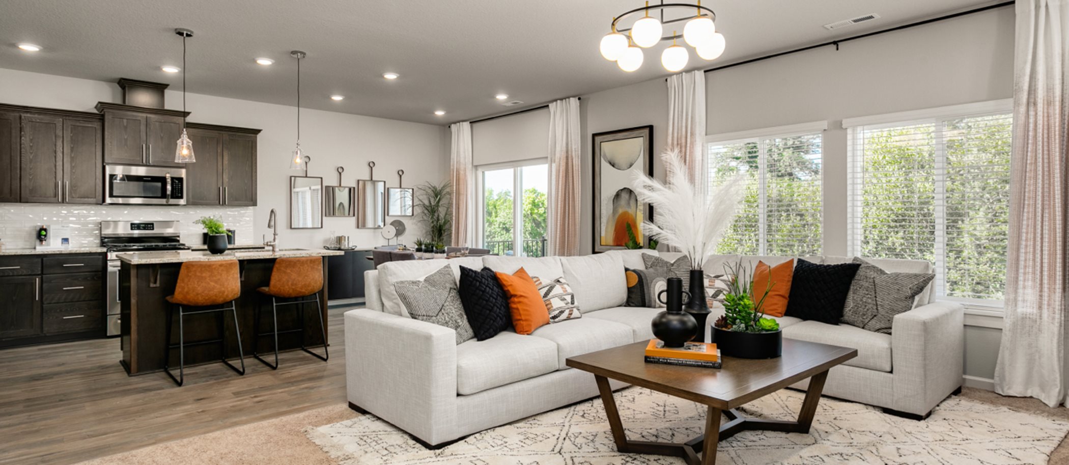 The Cascade Collection at Gales Creek Terrace Birch Living Room