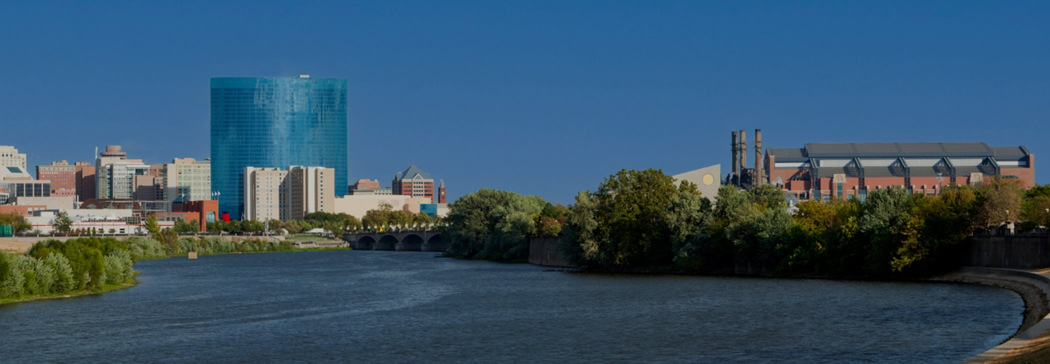 Indianapolis Skyline on the White River