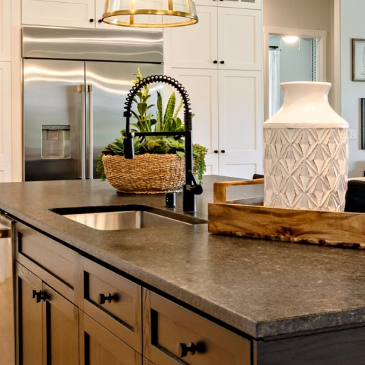 The Ranch at Heritage Grove Pinnacle Series Cathedral Kitchen