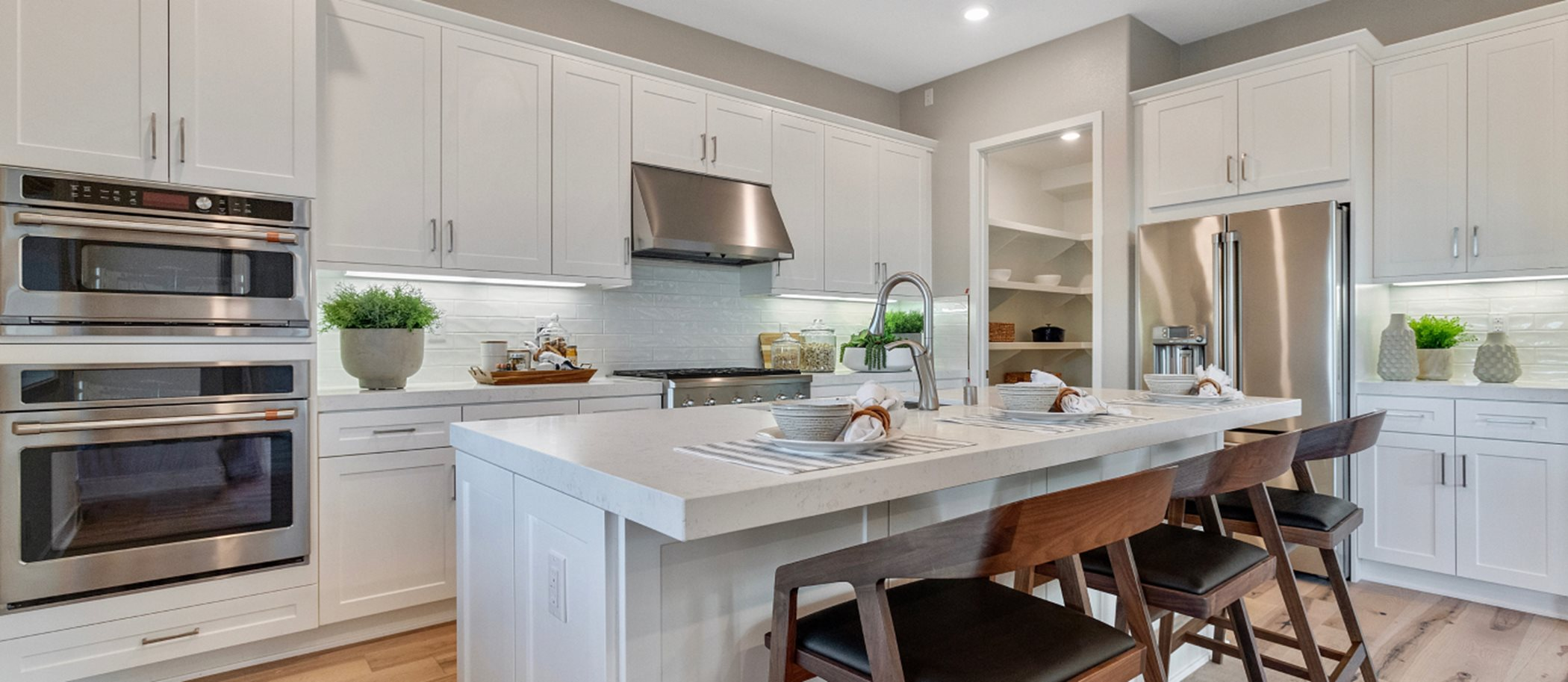 Great Park Neighborhoods Almeria at Rise Residence 1 Kitchen