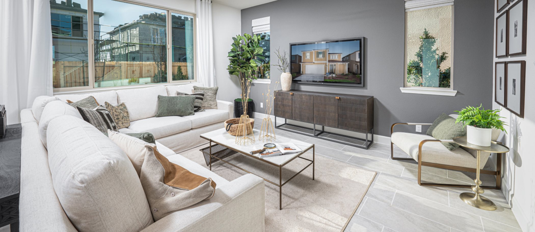 Essentia at Sterling Meadows Residence 1638 Living Room