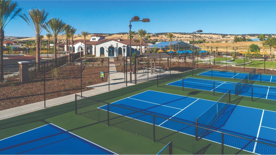 Heritage El Dorado Hills Tennis Courts