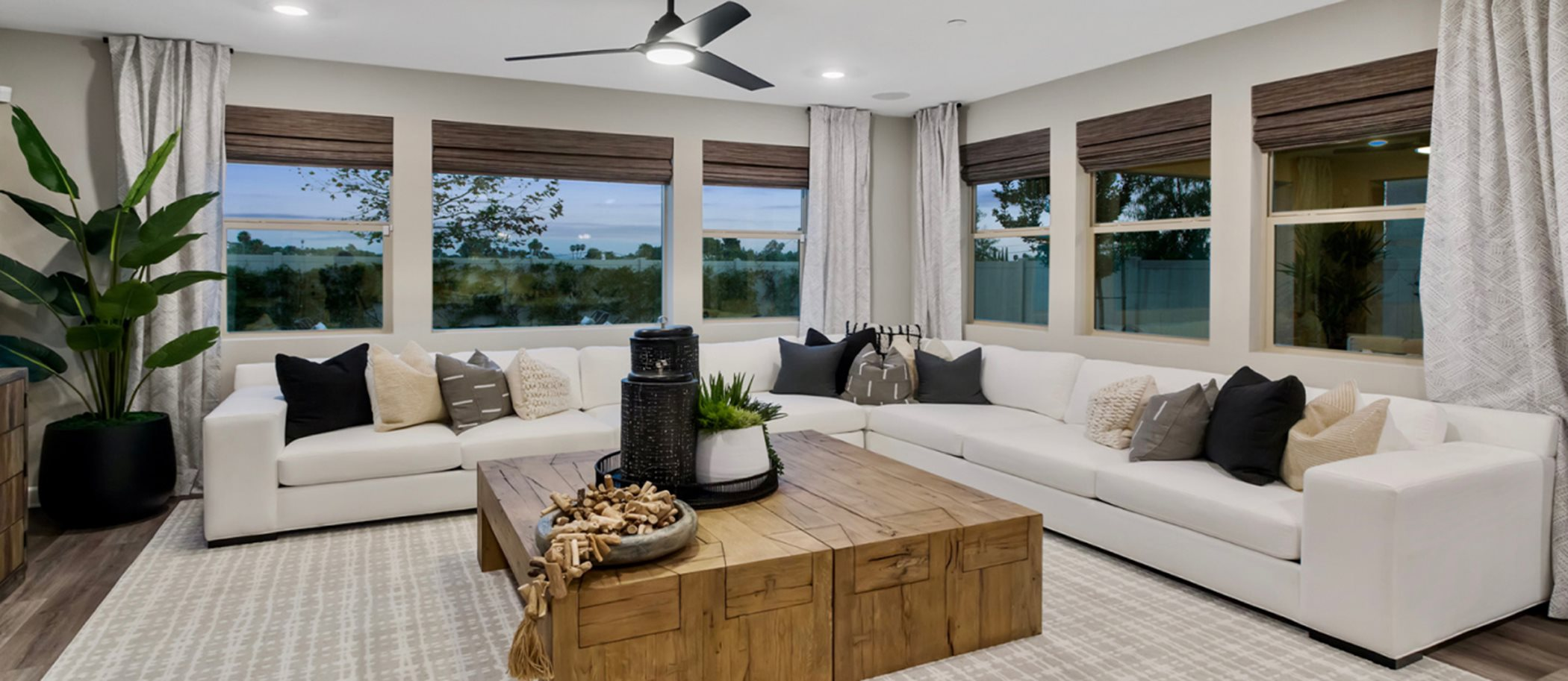 Sanctuary at Canopy Grove Residence 3 Living
