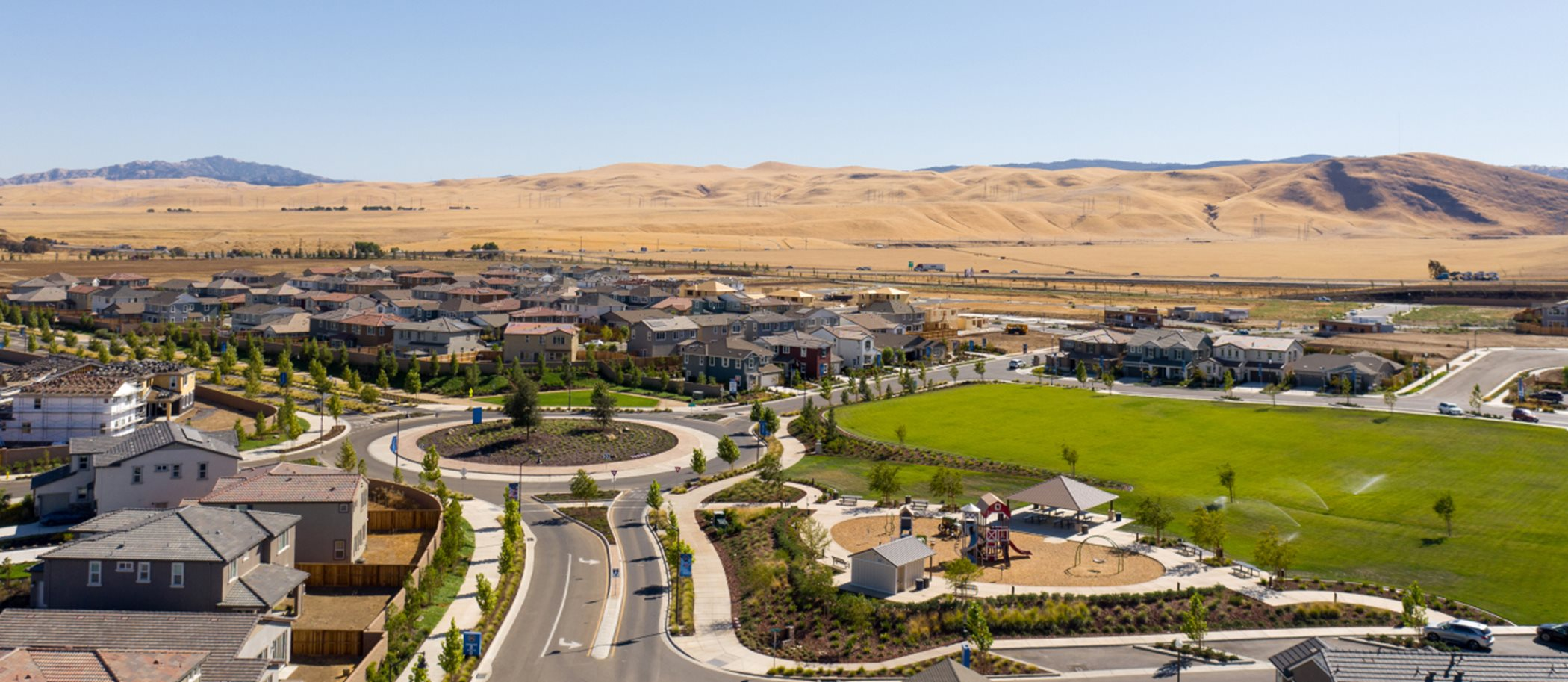 Tracy Hills Aerial