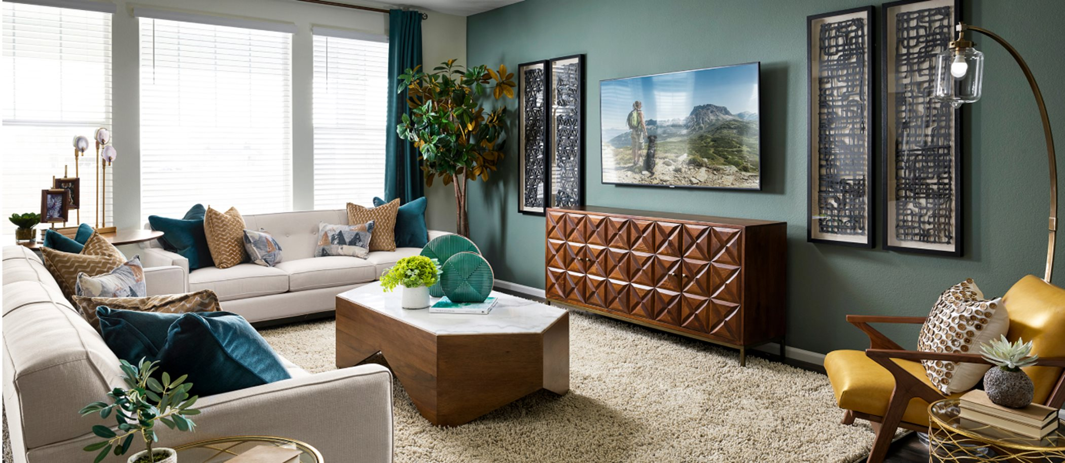 Mosaic The Monarch Collection Ashbrook Living Room