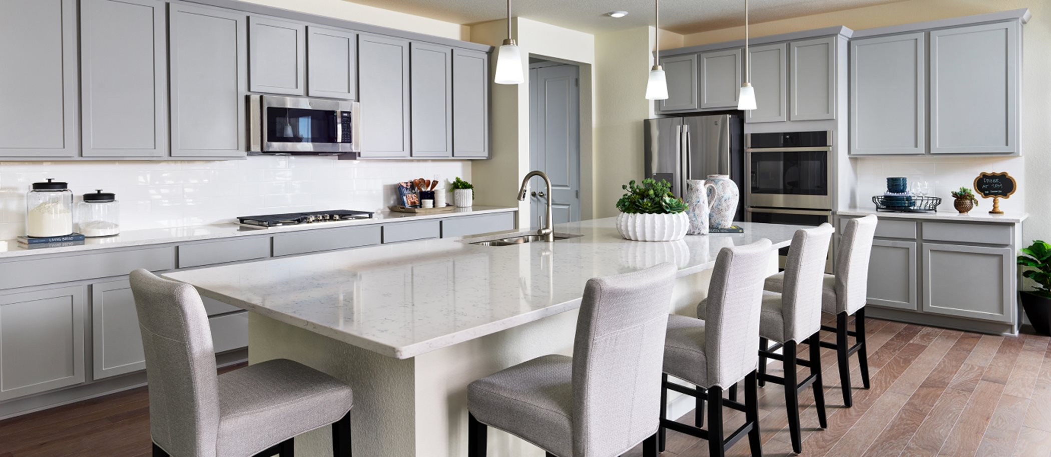 The Grand Collection at Willow Bend SuperHome II Kitchen