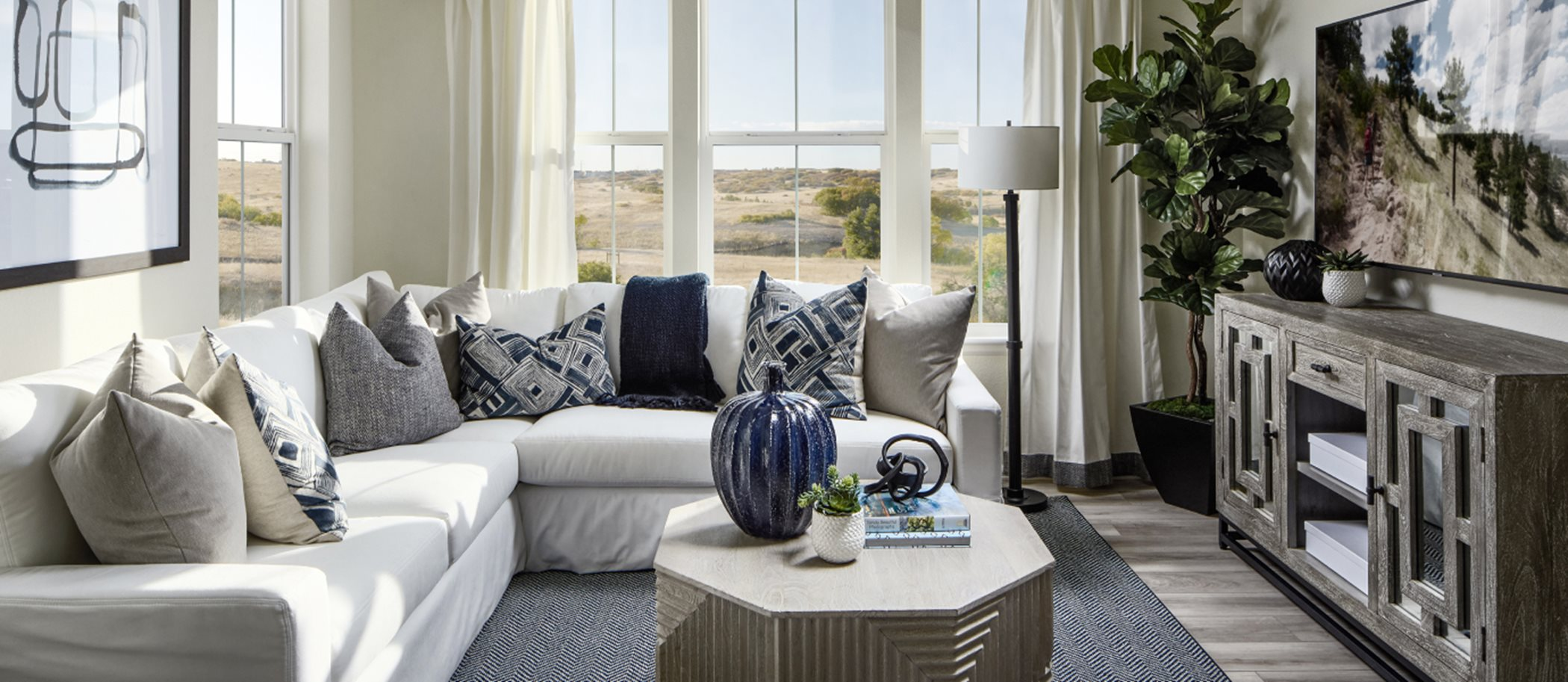 Palisade Park Paired Homes Vibrant-Left Living Room