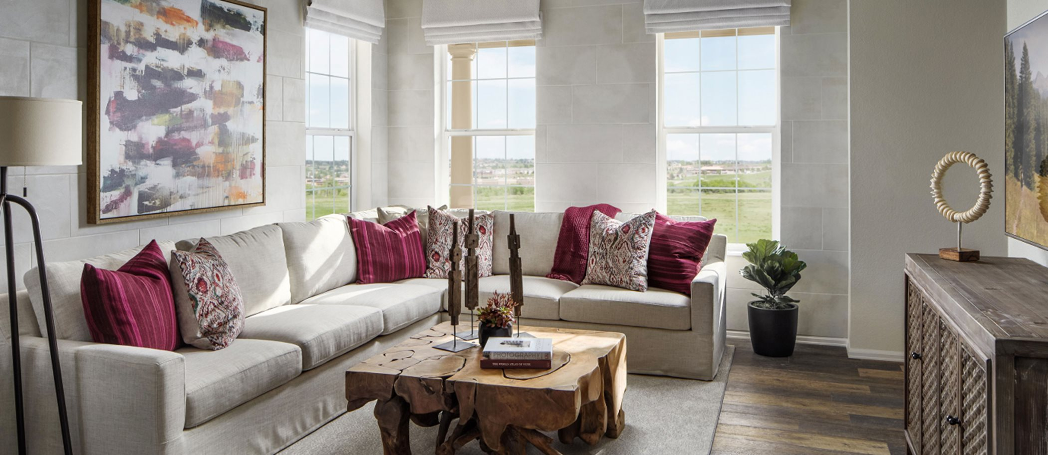 Palisade Park Paired Homes Lucent- Left Living