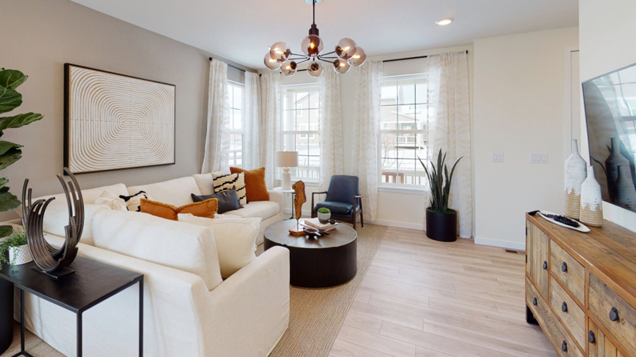 Lucent living room at Compass