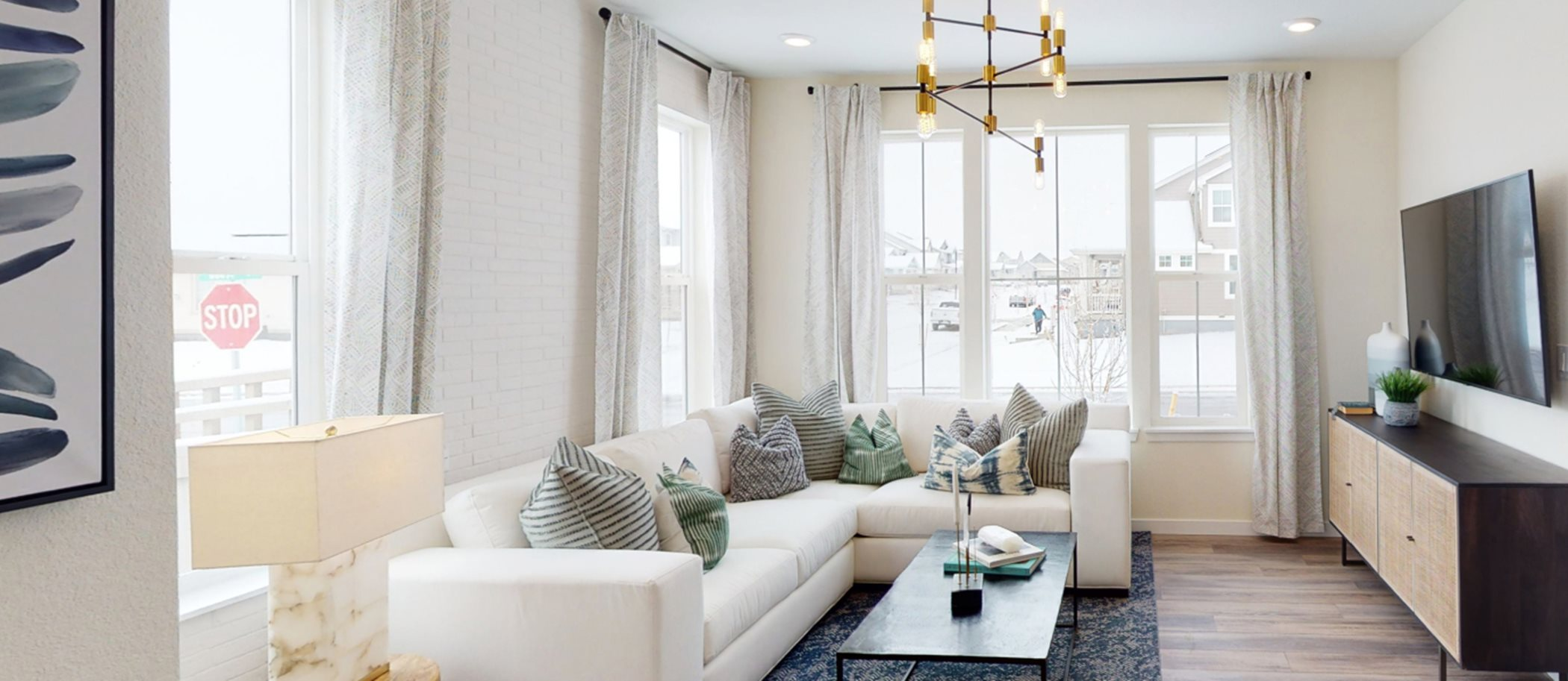 Compass Paired Homes Vibrant- Right Living Room