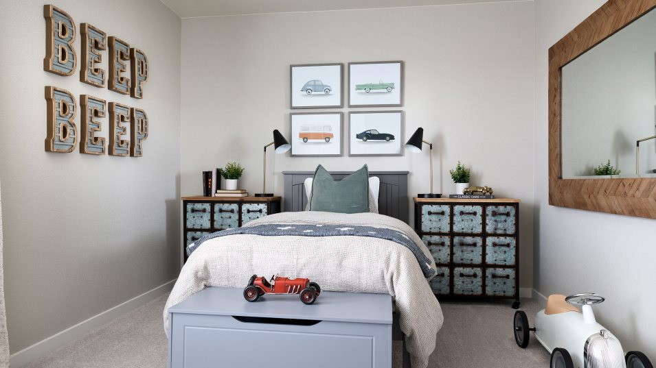 Buffalo Highlands Paired Homes Plateau Bedroom 3
