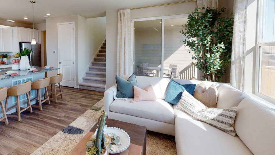 Buffalo Highlands Paired Homes Plateau Great Room
