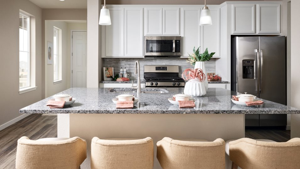 Buffalo Highlands Paired Homes Plateau Kitchen