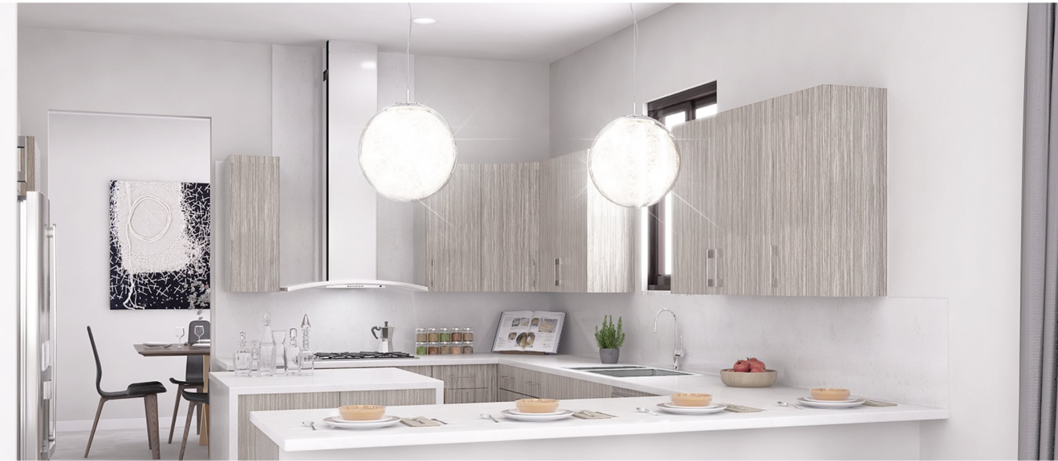 Cascata at MiraLago Estate Collection Sommerset Kitchen