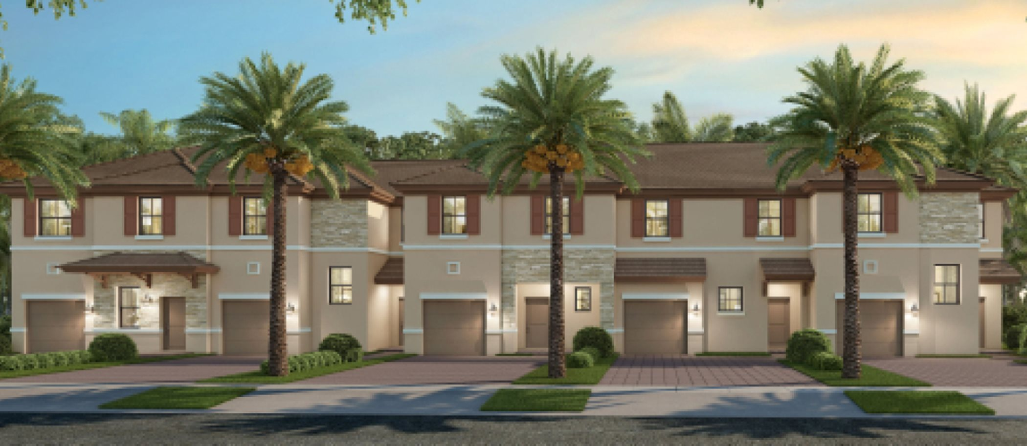 Crystal Cay west of the Florida Turnpike, offers new home designs
