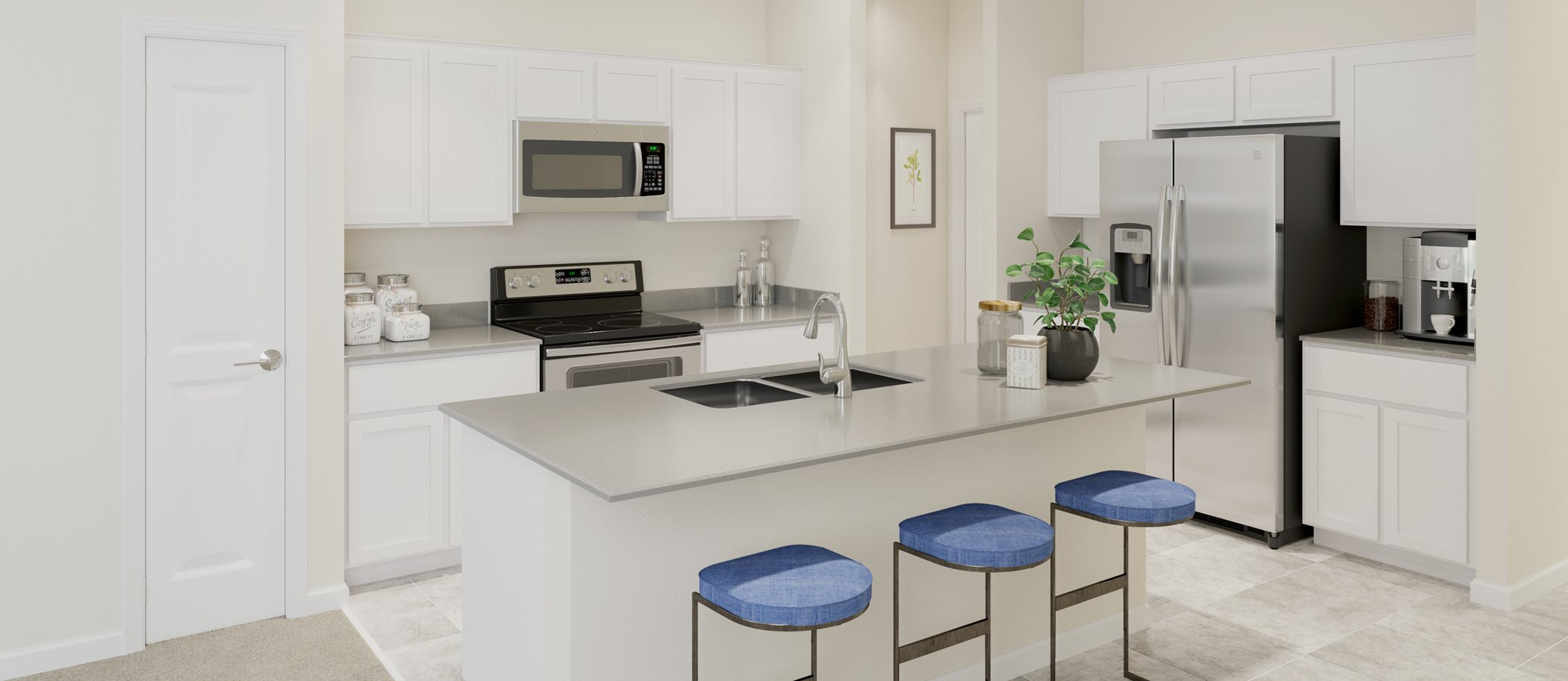 Trinity Lakes Manors Collection - Annapolis Kitchen