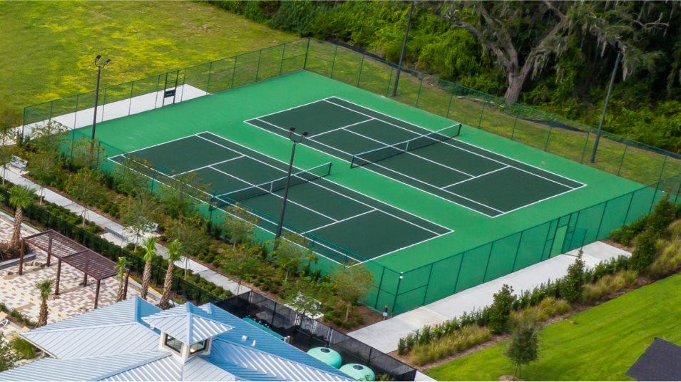 Tohoqua Tennis Court