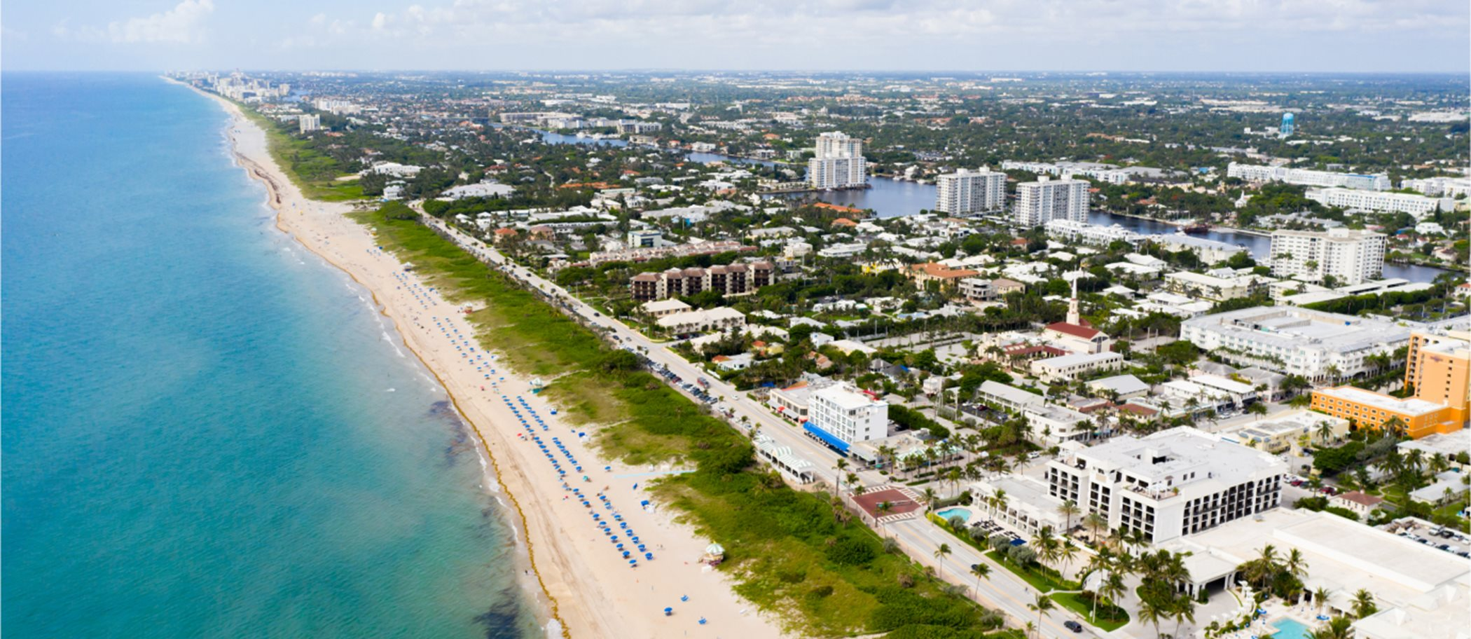 View of Delray Beach