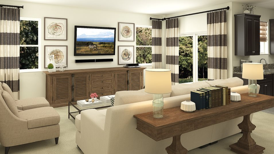 Willow - Townhomes - Verona Family Room