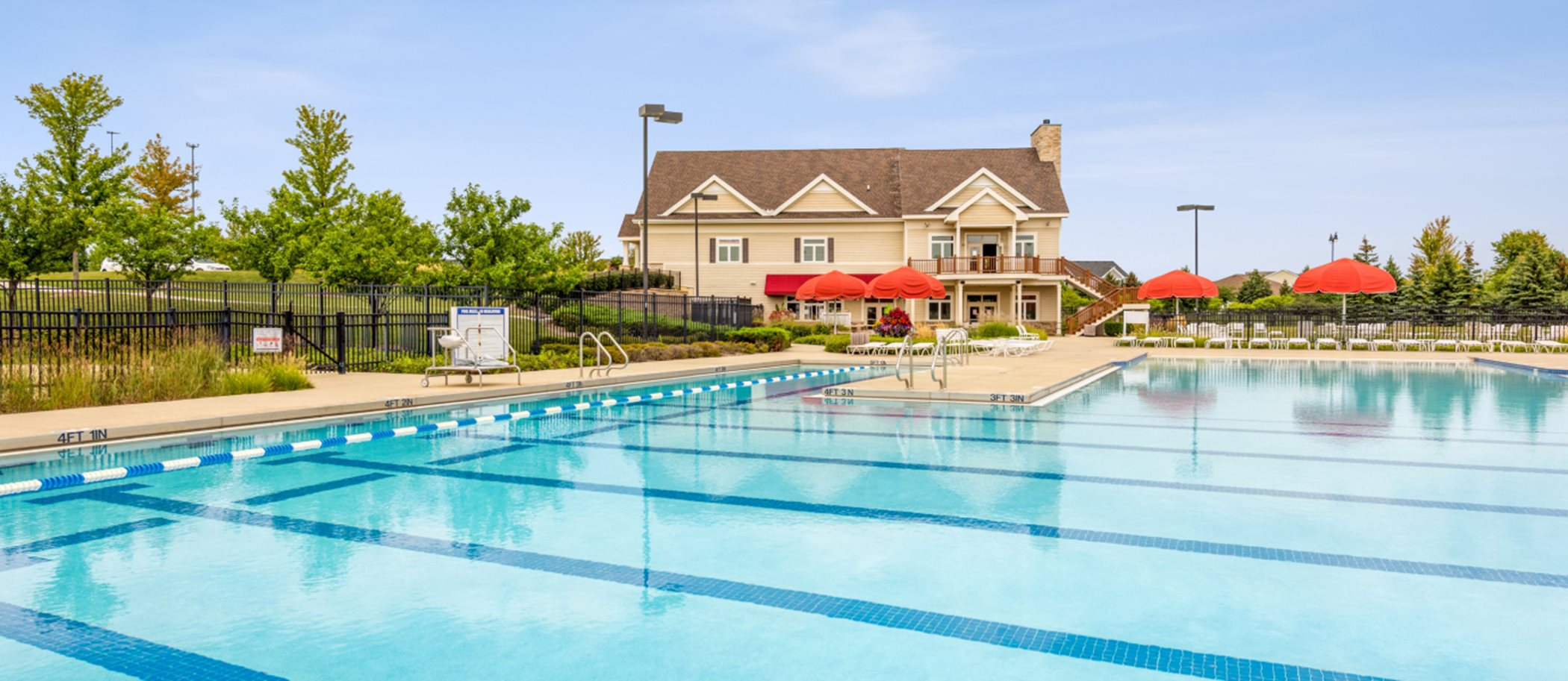 Talamore Clubhouse and Swimming Pool