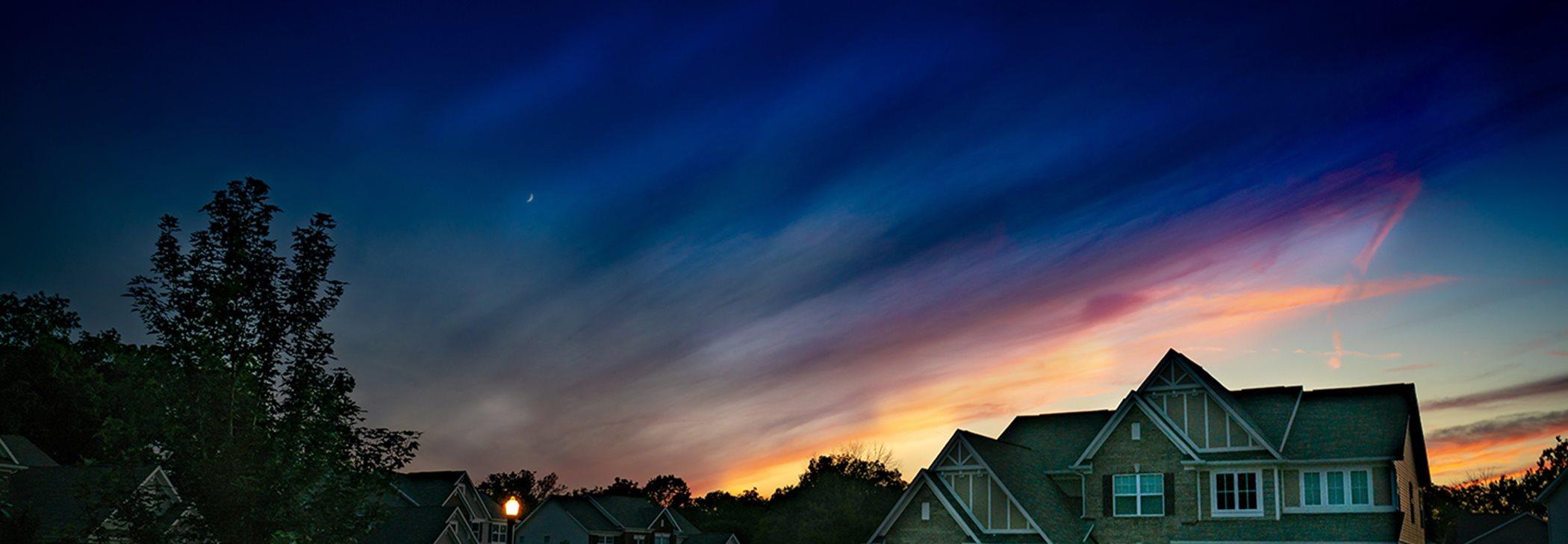 A Lennar Home at Sunset
