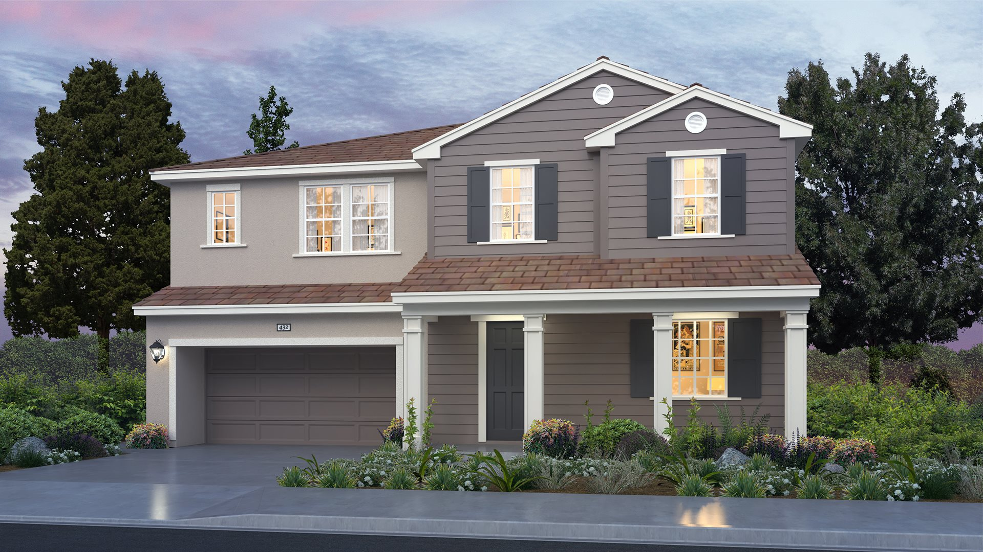 Everly at Parklane - Residence One D Exterior