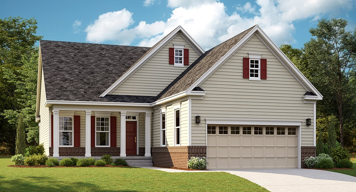 The James Traditional Siding and Brick