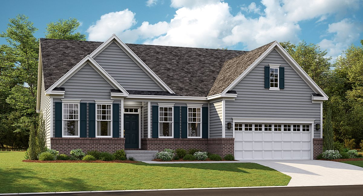 The Chesapeake Traditional Siding and Brick