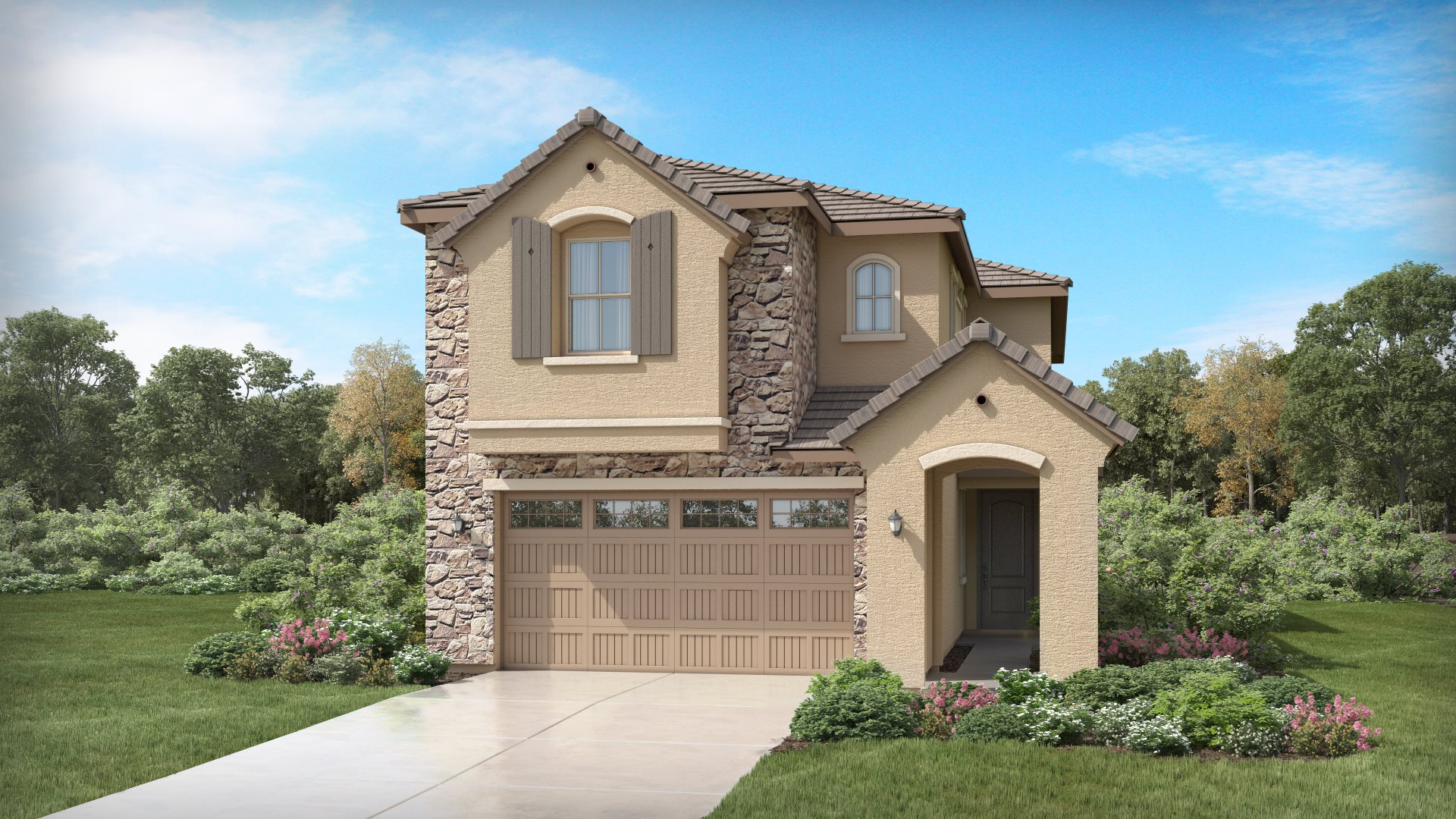 Aster Plan 2725 F French Country