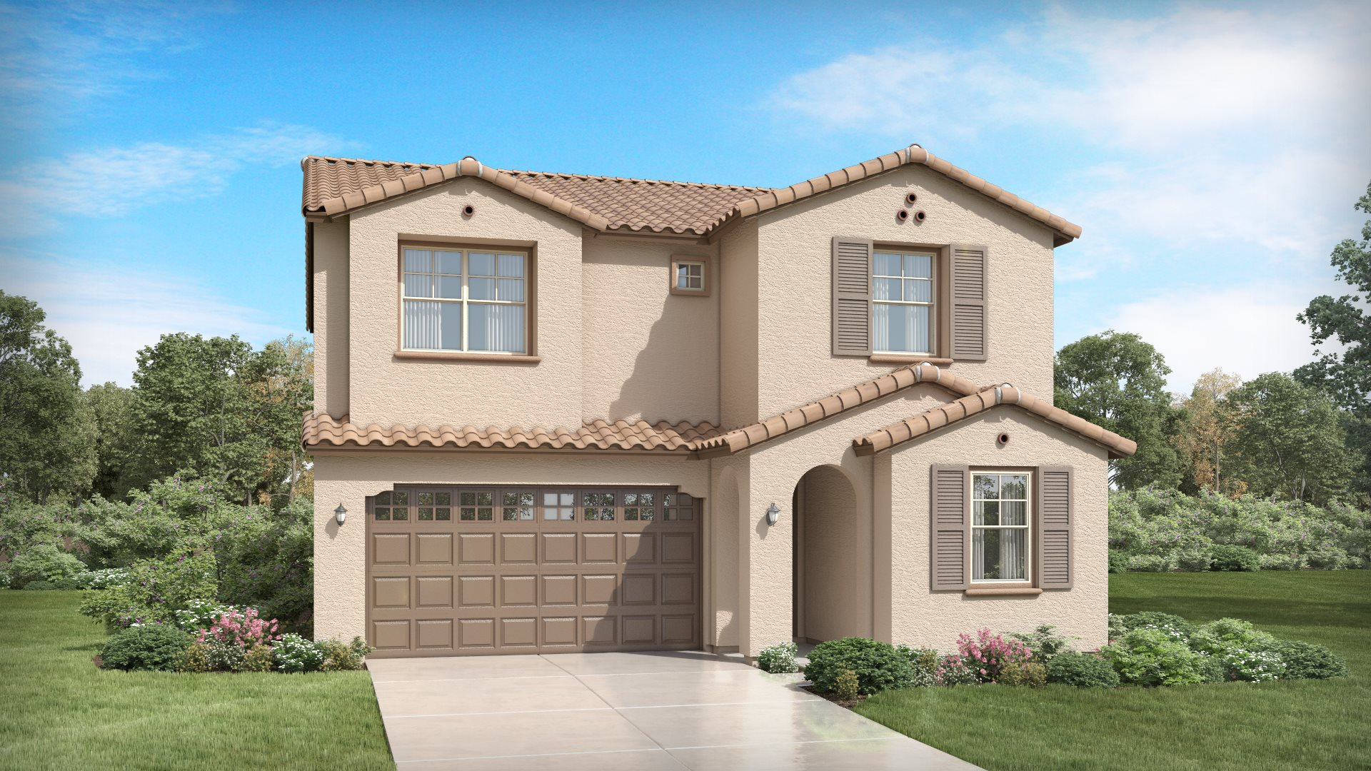 Cottonwood Plan 3524 A Spanish Colonial