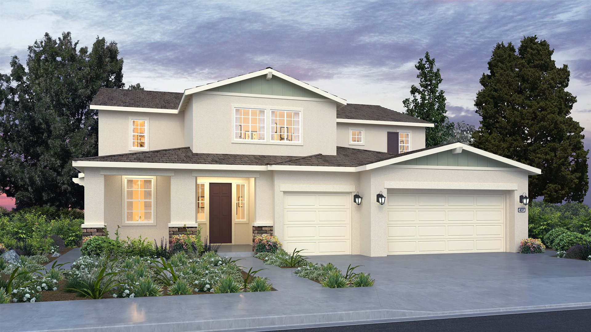 Weatherstone at The Reserve - 4134 Next Gen by Lennar B Exterior