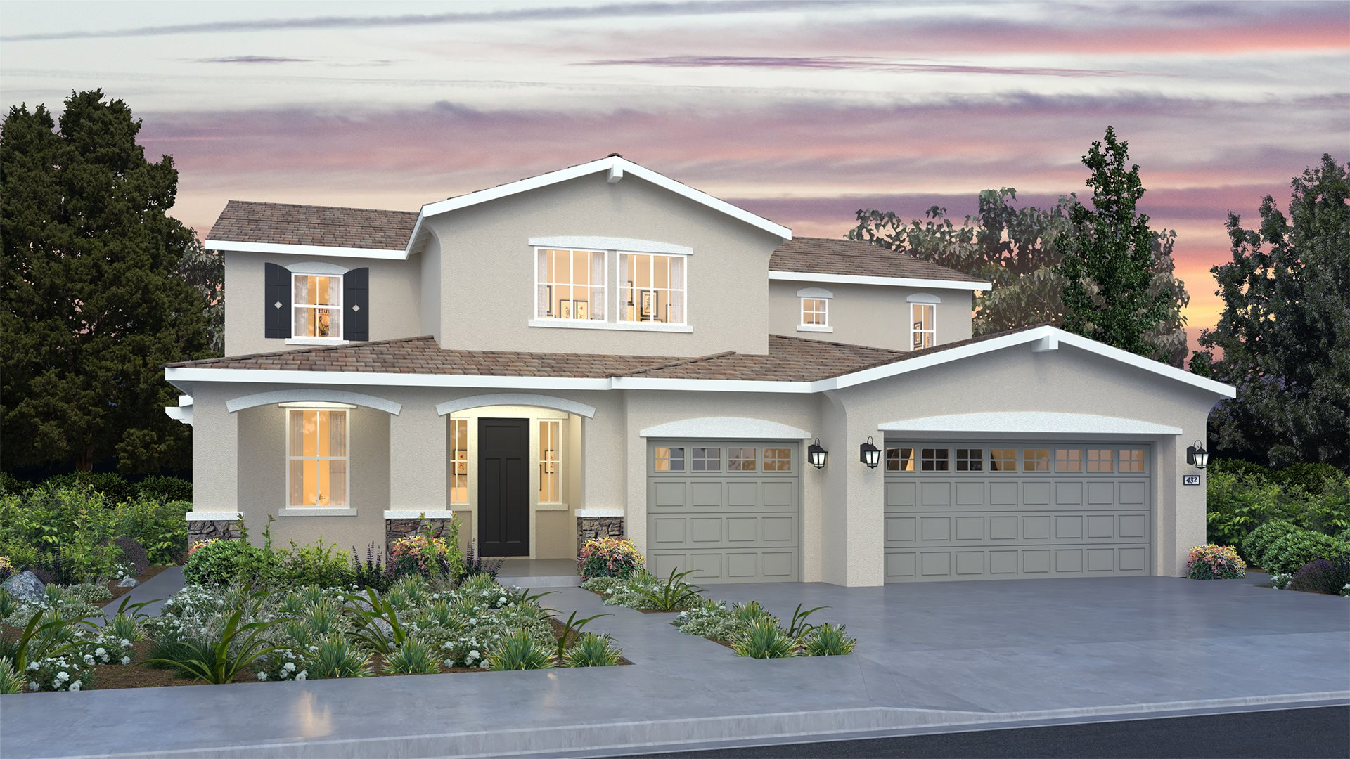 Weatherstone at The Reserve - 4134 Next Gen by Lennar C Exterior