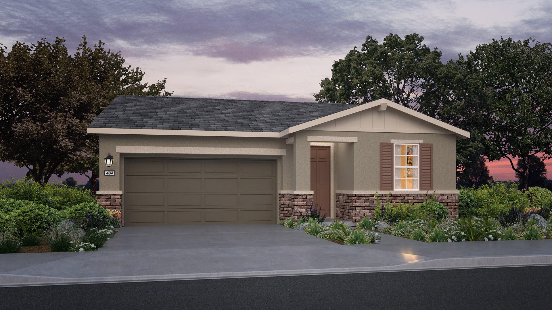 Whispering Hills at Saddle Point - Residence One B Exterior