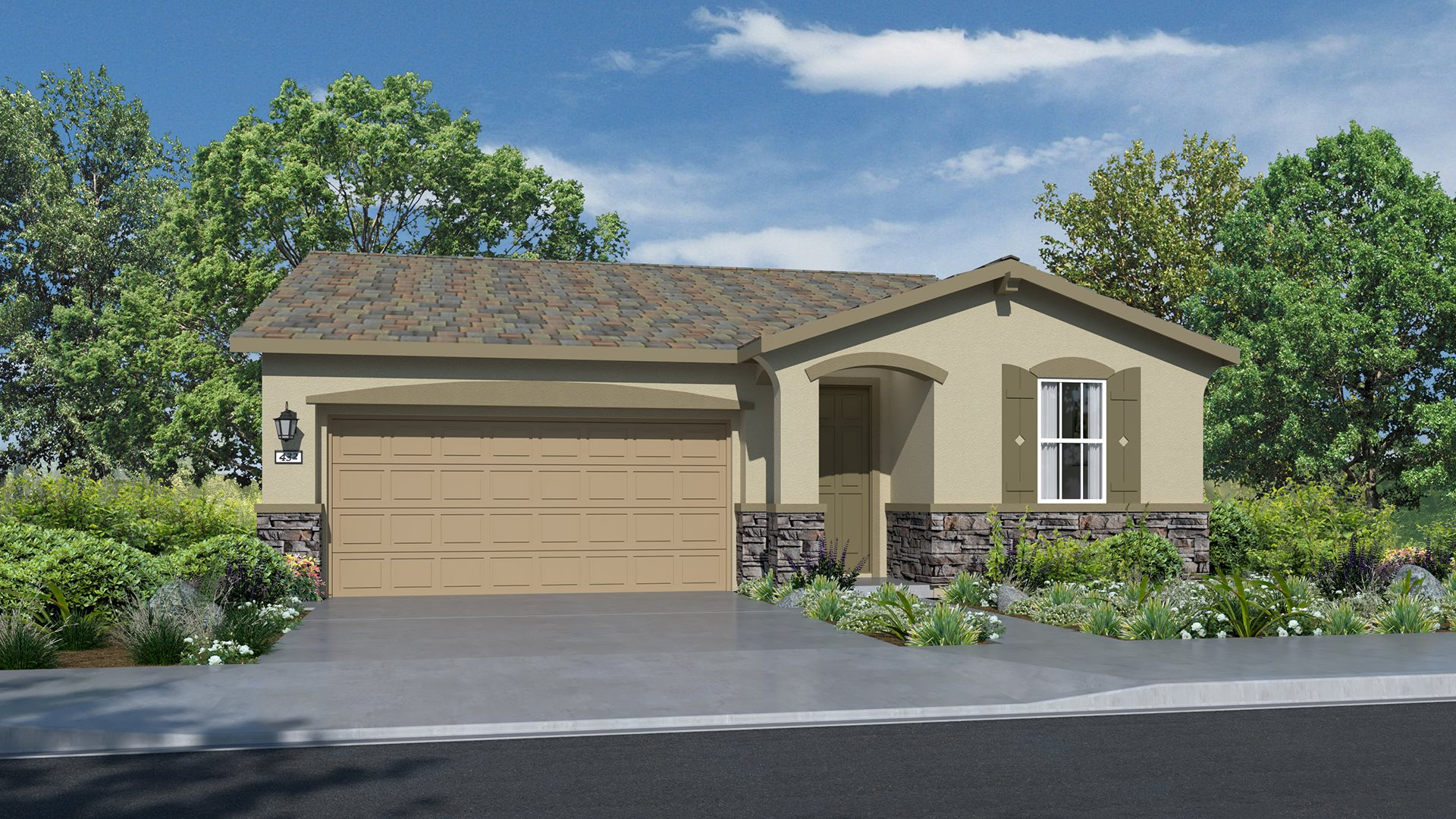 Whispering Hills at Saddle Point - Residence One C Exterior