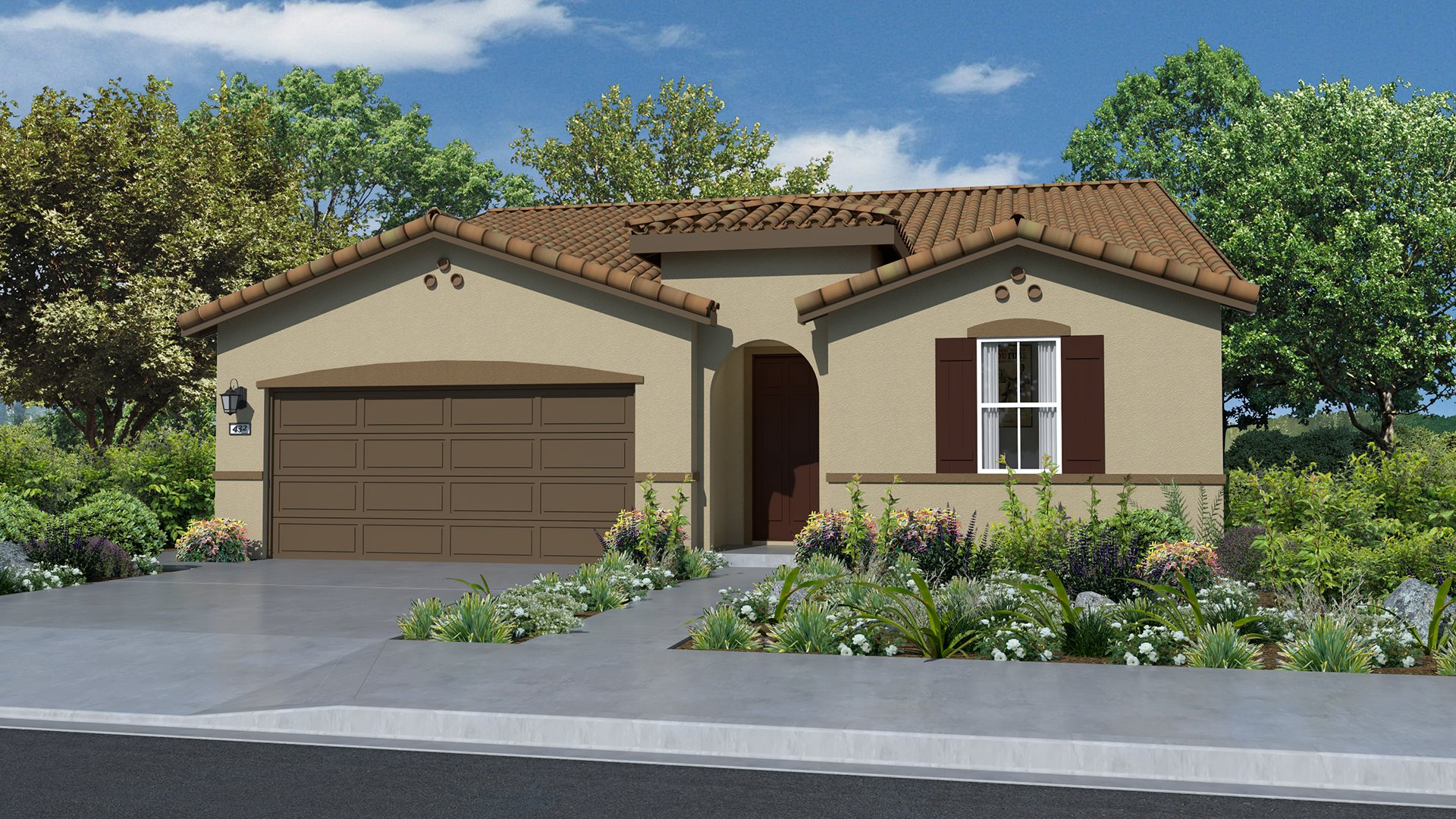 Whispering Hills at Saddle Point - Residence Three A Exterior