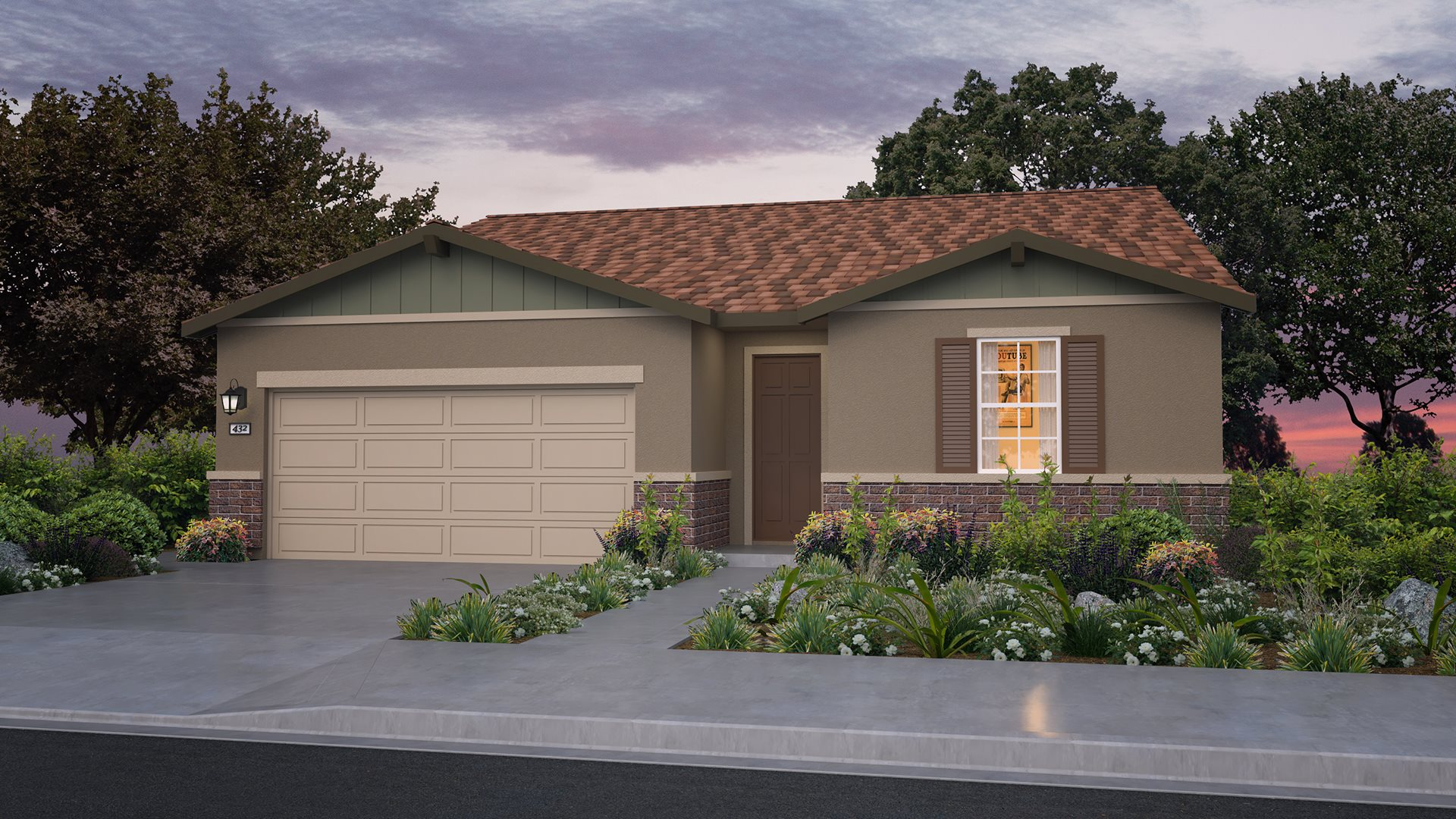 Whispering Hills at Saddle Point - Residence Three B Exterior