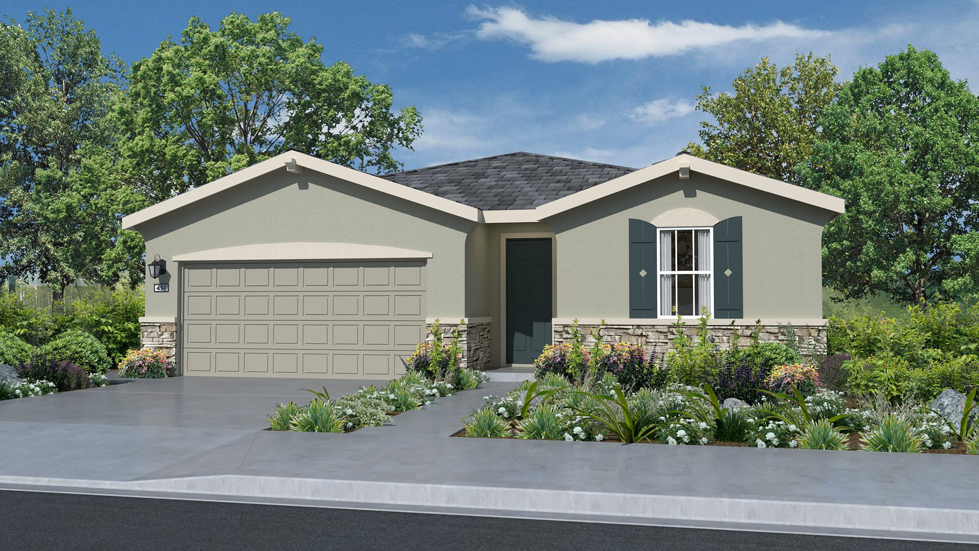 Whispering Hills at Saddle Point - Residence Three C Exterior